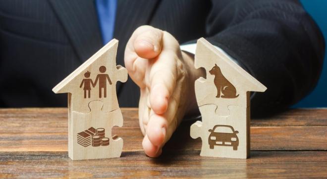 Cách phân chia tài sản chung sau ly hôn
